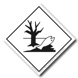 Environmentally Hazardous Placard