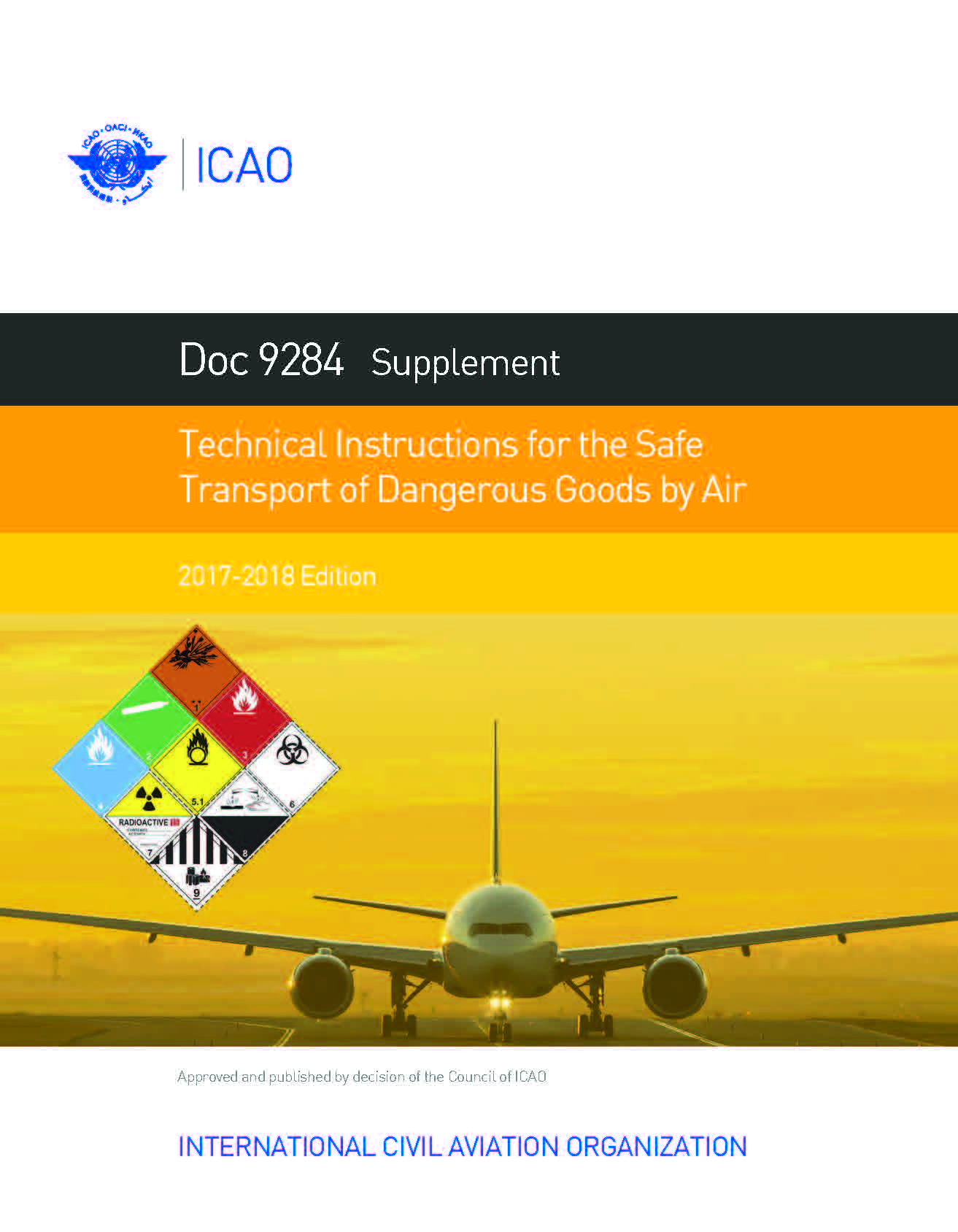 Supplement to the ICAO, 2019-2020 Edition