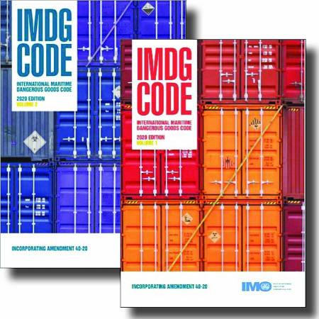 IMDG Code Amendment 40-20 Book Set (Vol. I & II)