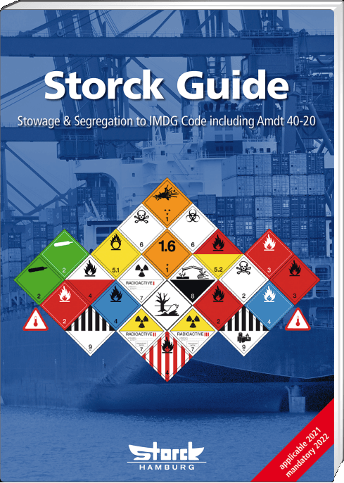 Storck Guide for Stowage & Segregation to the IMDG Code Amendment 40 - Book